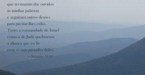 Jeremias 11:10,Assine o Devocional Para Hoje