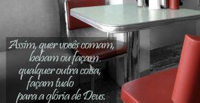 1 Coríntios 10:31,Assine o Devocional Para Hoje