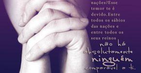 Jeremias 10:7,Assine o Devocional Para Hoje