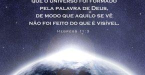 Hebreus 11:3,Assine o Devocional Para Hoje